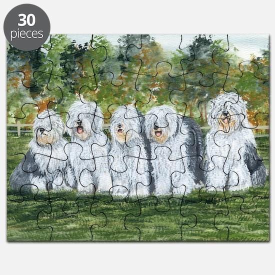 old english sheepdog Puzzle