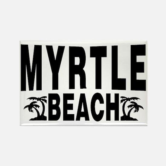 beach_myrtle Rectangle Magnet