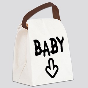 baby arrow Canvas Lunch Bag