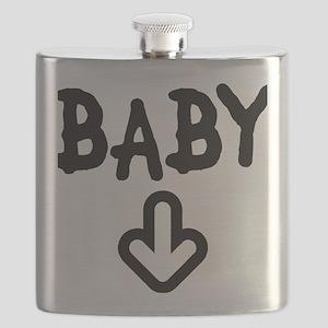 baby arrow Flask