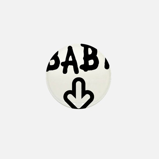 baby arrow Mini Button