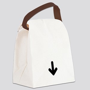 baby arrow 2 Canvas Lunch Bag