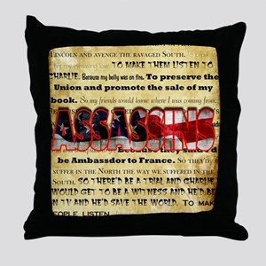 whywedidit2 Throw Pillow