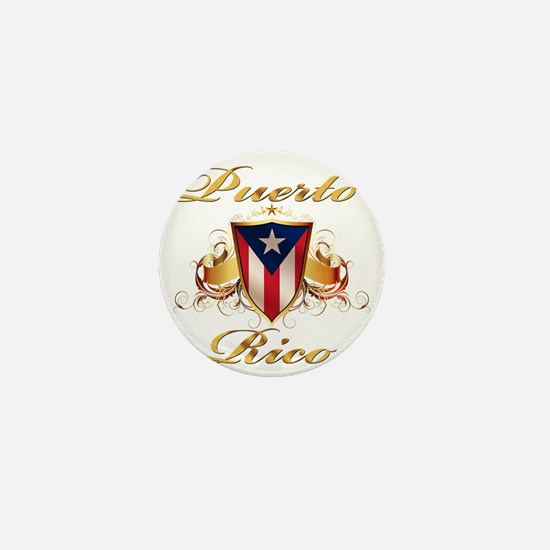 puerto rico Mini Button