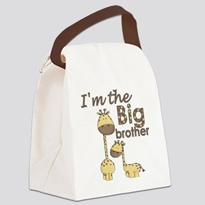 big brother giraffe Canvas Lunch Bag