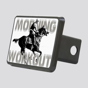 The Morning Workout Rectangular Hitch Cover