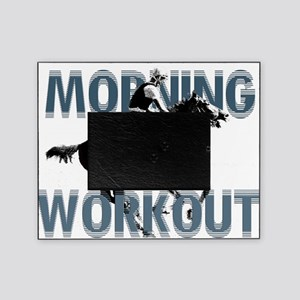 The Morning Workout Picture Frame