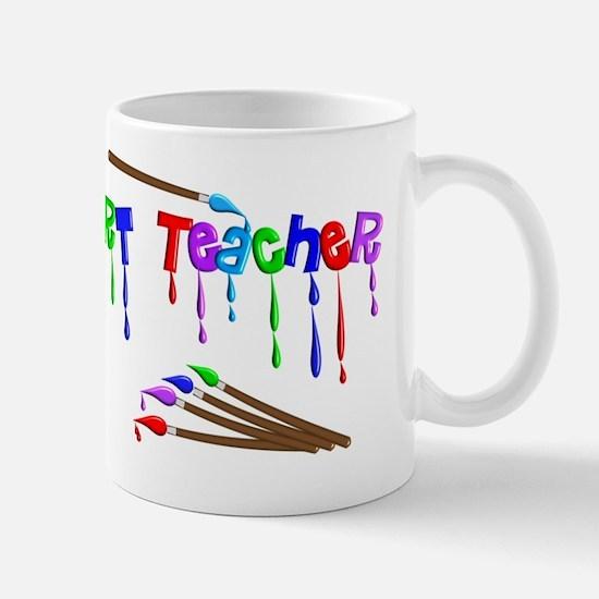 Art Teacher Multi Brushes Mug