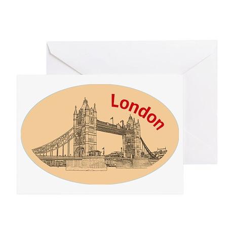 London_4.58x2.91_tmug_TowerBridge Greeting Card