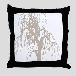 weepingwillowtree3 Throw Pillow