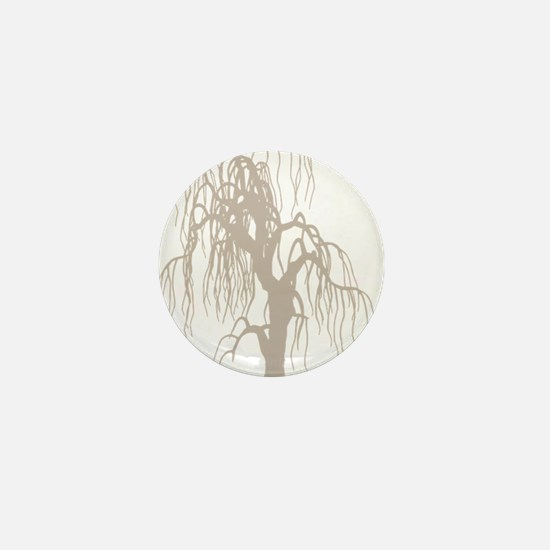 weepingwillowtree3 Mini Button