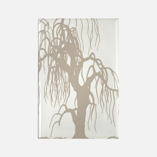 weepingwillowtree3 Rectangle Magnet