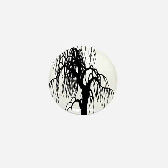 weepingwillowtree1 Mini Button
