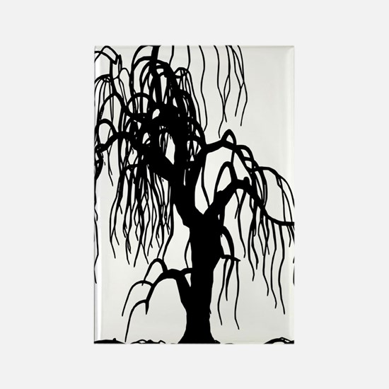 weepingwillowtree1 Rectangle Magnet