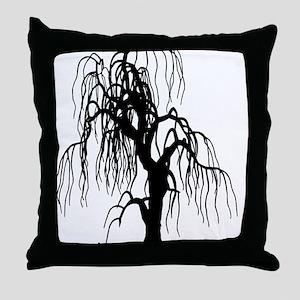 weepingwillowtree1 Throw Pillow