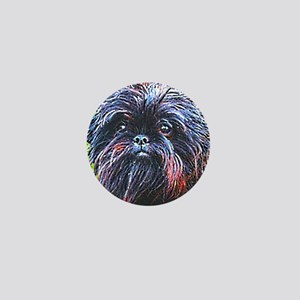 Affenpinscher Mini Button