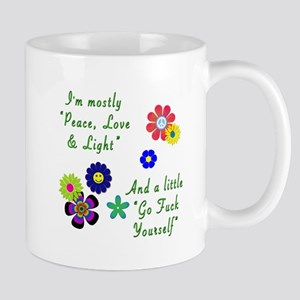 Peace, Love & Light Mugs