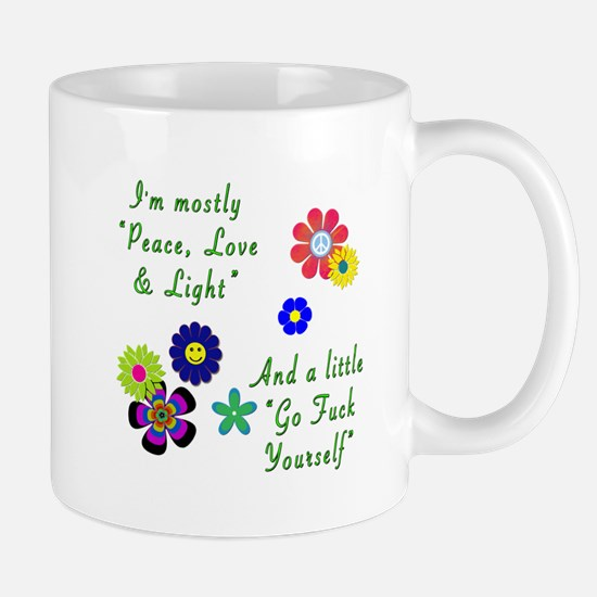 Peace, Love & Light Mugs