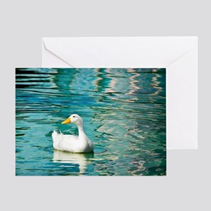 SittingDuck_4X6 Greeting Card