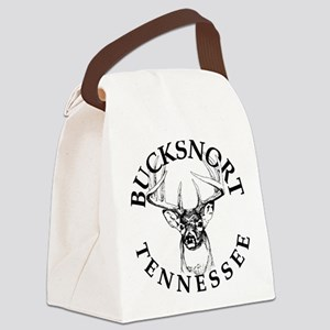 20110518 - BucksnortTN - ROUND Canvas Lunch Bag