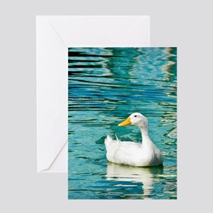SittingDuck_ipad Greeting Card