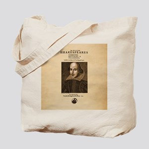 First_Folio-ornament-Large Tote Bag