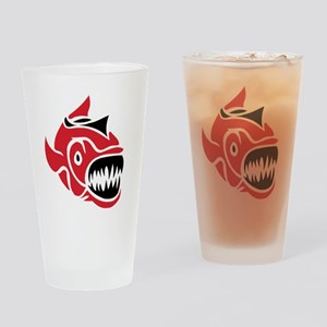 Piranha Drinking Glass