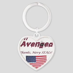 911avenged Heart Keychain