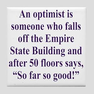 optimist-empire2 Tile Coaster