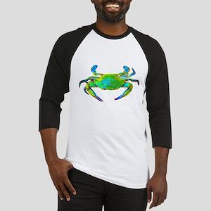 """Neon"" Blue Crab Baseball Jersey"