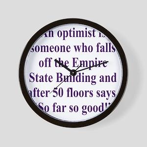 optimist-empire2 Wall Clock