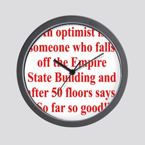 optimist-empire1 Wall Clock