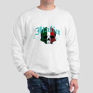 italy skull Sweatshirt