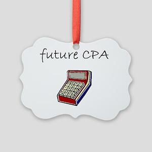 future cpa Picture Ornament