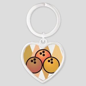bowl101light Heart Keychain