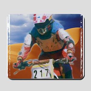 Motocross man Mousepad