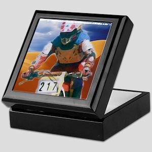 Motocross man Keepsake Box