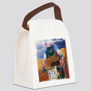 Motocross man Canvas Lunch Bag