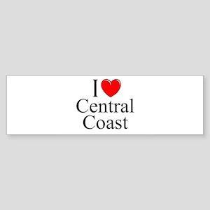 """""""I Love Central Coast"""" Bumper Sticker"""