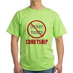 COURTSHIP Green T-Shirt