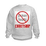 COURTSHIP Kids Sweatshirt