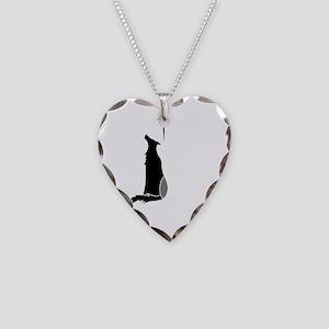 LupineShirtLogoBB Necklace Heart Charm
