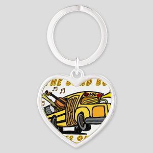 bandbus2000wh Heart Keychain
