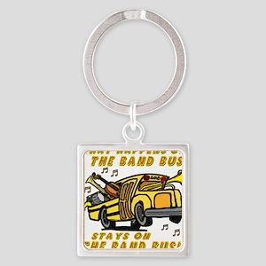 bandbus2000wh Square Keychain