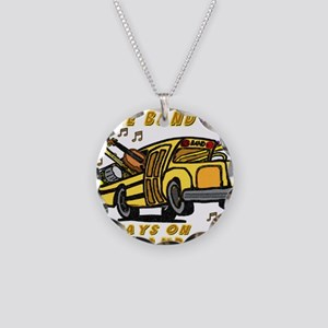 bandbus2000wh Necklace Circle Charm