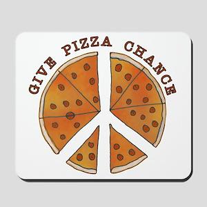 pizzachance2wh Mousepad