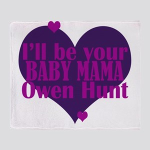 Baby_Mama Throw Blanket