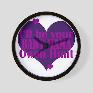 Baby_Mama Wall Clock