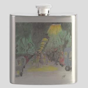 The Jiggly Hula Gal Flask