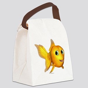 ga_goldiefish Canvas Lunch Bag